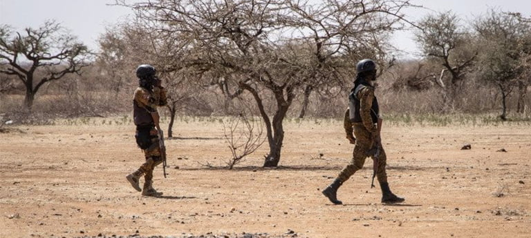 Armed attack villages in northern Burkina Faso, killing at least 10 civilians and 15 soldiers, in a series of attack